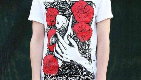 Печать на футболках — тренд современности