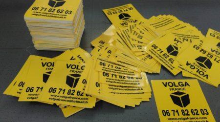 печать наклеек на пленке