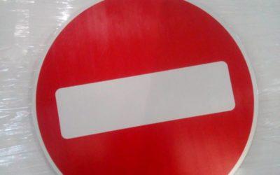 Дорожный знак СТОП